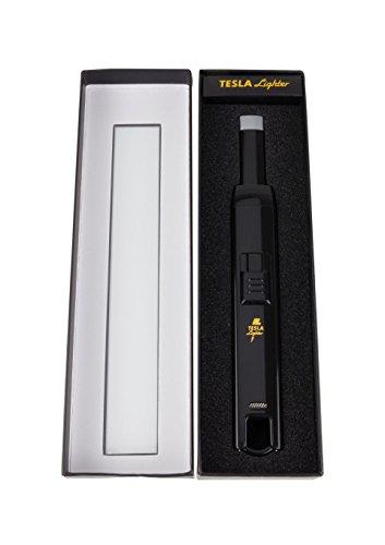 41A0KLhKgPL - TESLA Lighter T07 | elektronisches USB Lichtbogen Stab Feuerzeug, Schwarz