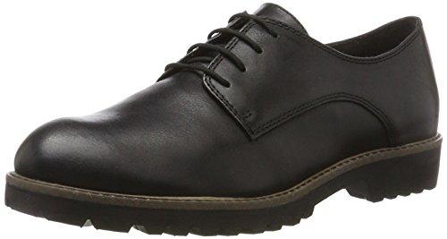 Tamaris Damen 23204 Oxfords, Schwarz (Black Leather), 39 EU