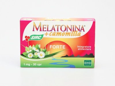 Melatonina + Camomilla SIRC Forte 30 compresse