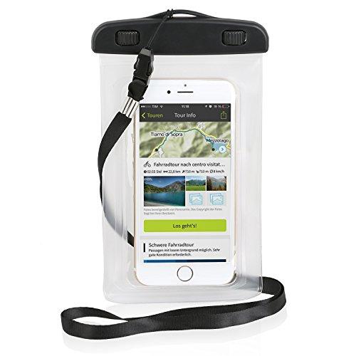Wicked Chili Beachbag / Outdoor Bag für Apple iPhone X / 8 / 7 / 6S / 6 / SE / 5S, iPod Touch - Schutzhülle für Strand, Wandern, Outdoor (Schutz gegen Staub, Sand, Nässe / wasserdicht bis 3m / IPX8)