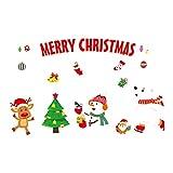 Happy Event 2019 Frohe Weihnacht-Haushalts-Raum-Wand-Aufkleber | Wandbild Dekor Aufkleber Abnehmbar