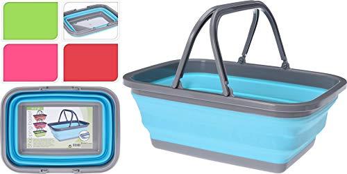 Camping-Hygiene Schüssel Waschschüssel Spülschüssel Besteck Korb Einkaufskorb Camping faltbar