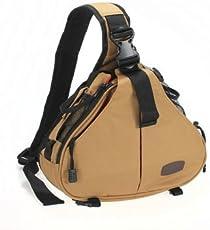 Caden K1 Fashion Casual DSLR Camera Shoulder Bag For Camera - Khaki