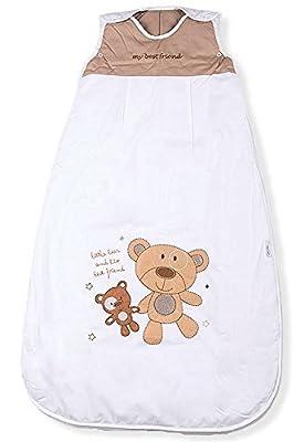 Sacos de Dormir para Bebé, Mejor Amigo del Oso, Kiddy Kaboosh, Varios Tamaños, Ligero, 0.5 Tog