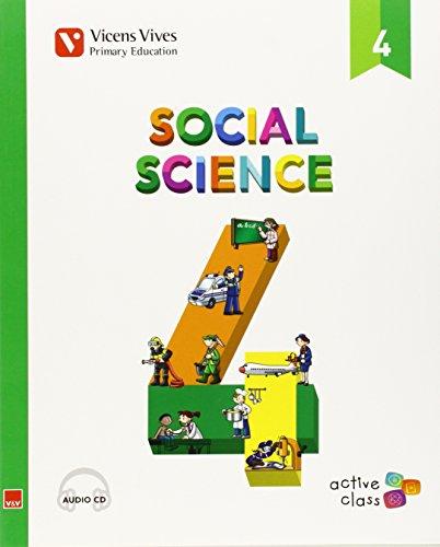 Ep 4 - Ciencias Sociales (ingles)  - Aula Activa (CD no incluido) - 9788468229065 por Margarita Garcia Sebastian