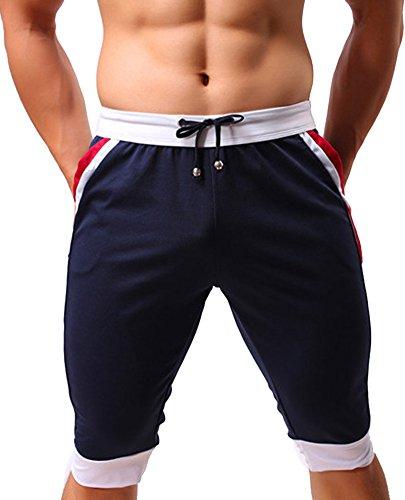 Idopy -  Pantaloncini  - Uomo Blu