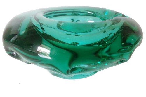 aschenbecher-gruner-glasaschenbecher-dekorative-zierglasschale-kristallglasschale-mundgeblasen-durch