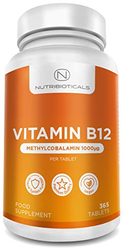 Vitamin B12 Methylcobalamin 1000...