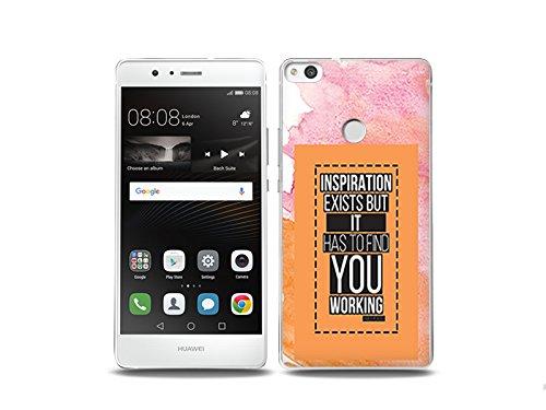 etuo Huawei P9 Lite (2017) Handyhülle Schutzhülle Etui Hülle Case Cover Tasche für Handy Fantastic Case - Inspiration