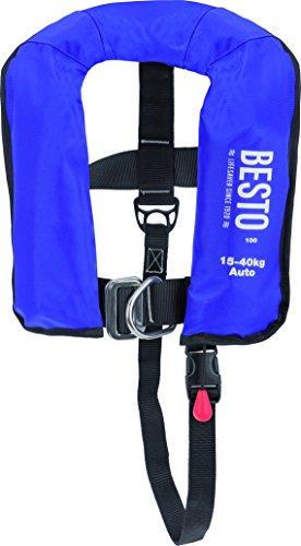 Besto Automatik Rettungsweste Junior 100N blau mit Lifebelt Life Jacket