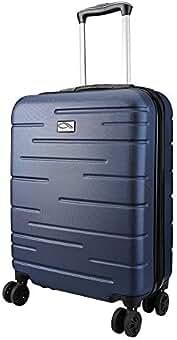 76f94182b6c CX Luggage Maleta de Cabina Superligera con Exterior Rígido de ABS Equipaje  de Mano con 4