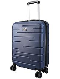 CX Luggage Maleta de Cabina Superligera con Exterior Rígido de ABS Equipaje de Mano con 4