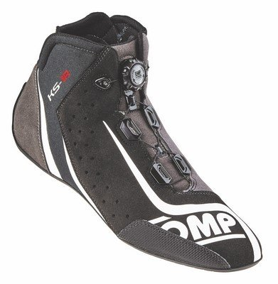 Omp ompic/81007146ks-1r Sneaker, Schwarz/Silber, Größe 46