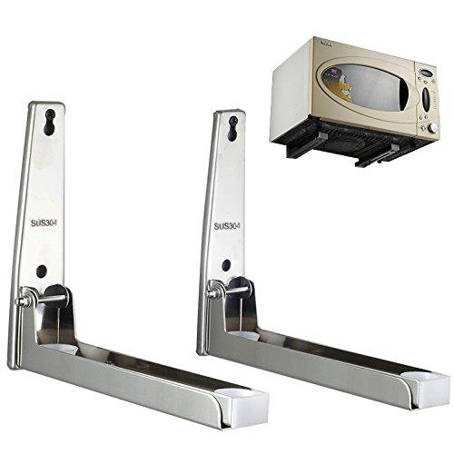 lifechaser-foldable-stainless-steel-microwave-oven-holder-shelf-rack-wall-mount