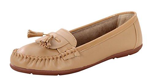 CatBird Women Beige Casual Loafer/Belly Shoes - 39 EU