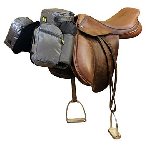 trailMAX Satteltasche Englisch, Front Pocket Packtasche grau