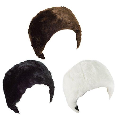 Faux Fur Mens Ladies Womens Unisex Winter Cossack Russian Hat