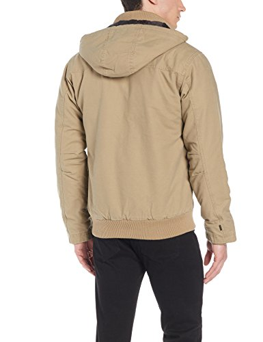 Quiksilver Everyday Brooks Blouson Homme Beige (elmwood Tmp0)