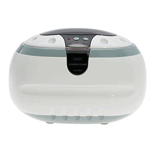 Sun LL Ultraschall-Reinigungsmaschine Gläser Reinigungsmaschine Ultraschall-Haushalts-Reinigungsmaschine Schmuck-Uhr-Zahnprothese-Reiniger Ultrasonic Cleaner (Color : B)