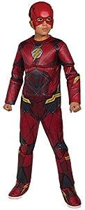 Marvel - Disfraz de Flash calidad Premium para niños, infantil 5-7 años (Rubie