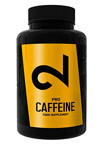 DUAL Pro CAFFEINE | Cafeína 100% Pura Certificada por Laboratorio | 120 Pastillas De Cafeína De Dosis Alta | Sin Aditivos Adicionales, Vegano y Sin Gluten | Suministro De 4 Meses | Hecho En la UE