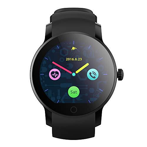 Qiy Smart Watch Wasserdicht Sport Fitness Tracker Bildschirm Anzeige Schrittzähler Kalorien Herzfrequenz Test Armband Armband