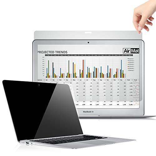 Premium Magnetische Blickschutzfilter für MacBook Pro 15 Zoll Touch Bar, Privacy Screen Filter, Anti-Spy Magnetische Blickschutzfolie - von AirMat (A1707 2017) (Premium-touch-screen)