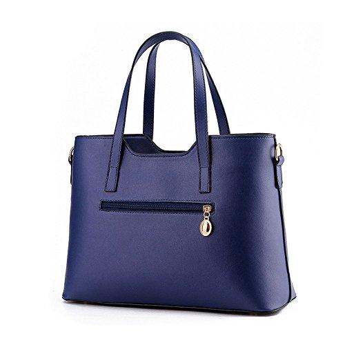 Luxus PU-Leder-Handtasche/Fashion Schultertasche/Tote Lila