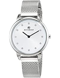 Accurist Womens  Watch, Analogue Classic Display and Stainless Steel Strap 8193.01