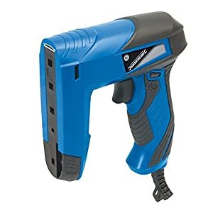 Silverline 837800 Compact Corded Nailer / Stapler 8-14mm Staples / 10-14mm Brads