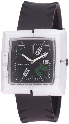 Fastrack Economy 2 Analog Black Dial Men's Watch - NC749PP03