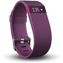 Fitbit Charge HR de la fréquence cardiaque et activité Bracelet–Prune, L