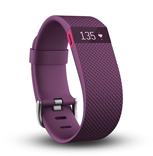 Inc Fitbit (fitbit CHARGE HR Large pflaume)