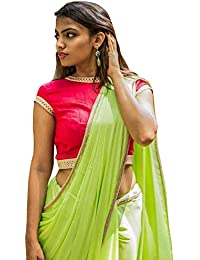 54b6d87c37 Women's Party Wear Readymade Bollywood Designer Indian Style Padded Blouse  for Saree Crop Top Choli