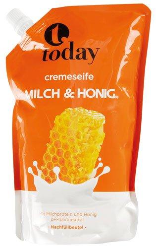today - Cremeseife Milch & Honig - 750ml