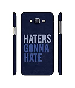 NattyCase Haters 3D Printed Hard Back Case Cover for Samsung Galaxy J5