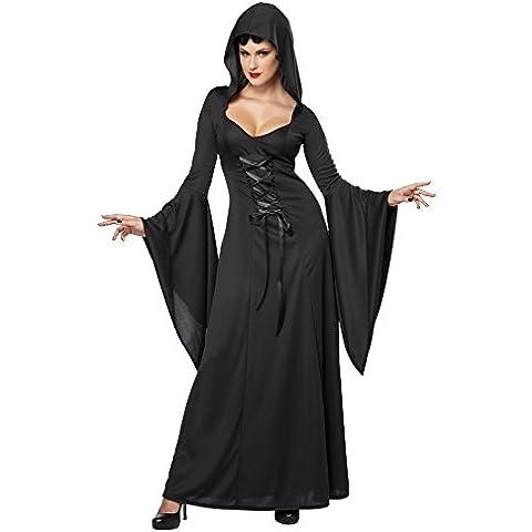 Travestimento strega nera per donna Halloween L
