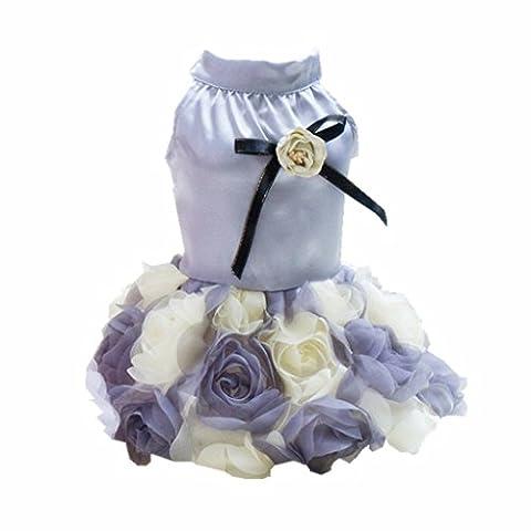 MagiDeal Hunde Katze Abendkleid Kostüm Kleid für Partei Festival - XL (Hund Tragen Weihnachten Kostüm)
