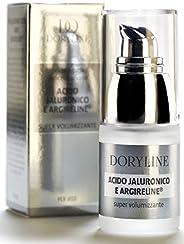 Siero Acido Ialuronico PURO con Argireline®, PROFESSIONALE, Gel Elasticizzante e Idratante Antirughe per Viso,