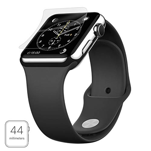 CELLBELL® Scratch Guard Screen Protector with Installation Kit for Apple Watch 4 (44mm)[Transparent]
