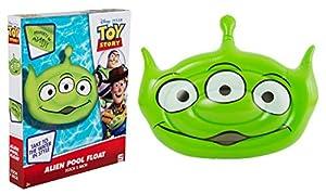 Sambro International Toy Story Flotador de Playa para Nadar al Aire Libre, con Madera, Buzz Jessie