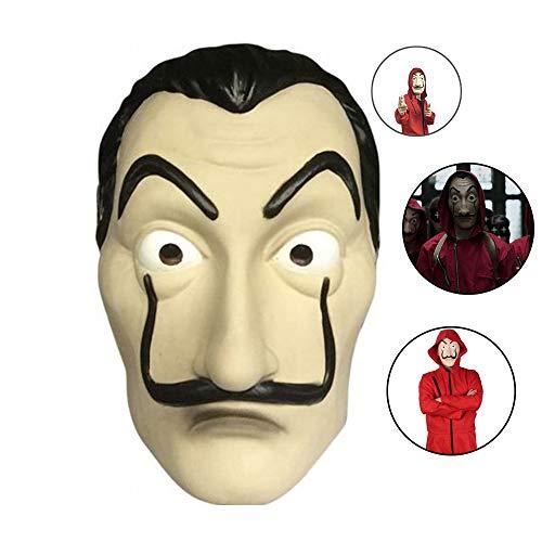Kostüm Hause Zu Halloween - Cloud speeding Haus des Geldes Maske , PVC Rollenspiel Kostüm Halloween Dali Maske, Verwendet Für Halloween Ostern Weihnachten Maskerade Bar Dekoration Festival