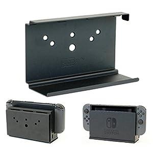 hideit Schalter Halterung–Wandhalterung Nintendo Switch Dock (schwarz)