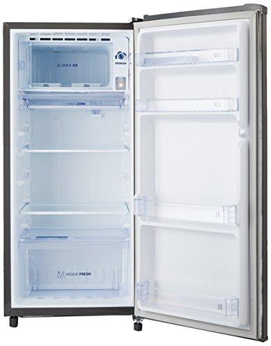 Whirlpool 190 L 3 Star Direct-Cool Single Door Refrigerator (205 GENIUS CLS PLUS 3S GREY, Grey)