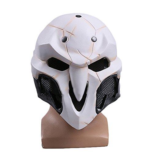 nihiug Watch Death Cos Maske Helm Spiel Ringe Halloween Masken Requisiten ()
