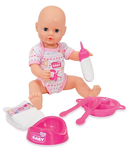 SIMBA 105037975'New Born Baby–El Tiempo De Sueño muñeca Set