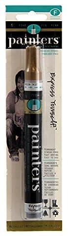Elmers/X-Acto Painters Opaque Paint Marker, Fine Tip, Gold (7328)