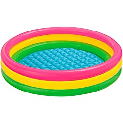 Intex Sunset - Piscina hinchable, 114 x 25 cm