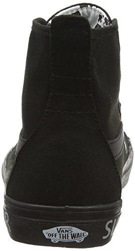 Vans Dazie-hi -Sneakers alte Donna, Nero (dots/black), 34.5 EU Nero (summer Bummer/reflective/black)