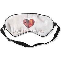 Sleep Eye Mask Hearts I Am Free Lightweight Soft Blindfold Adjustable Head Strap Eyeshade Travel Eyepatch E10 preisvergleich bei billige-tabletten.eu